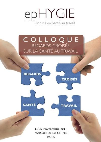 REGARDS CROISÉS COLLOQUE SANTÉ AU TRAVAIL